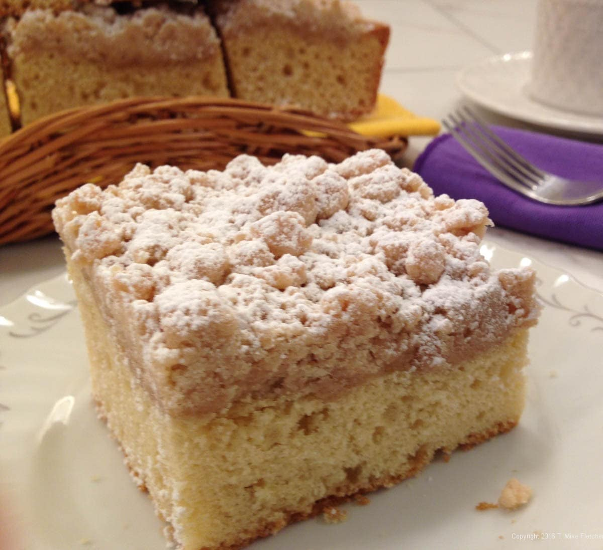 New York Style Crumb Cake - Pastries Like a Pro