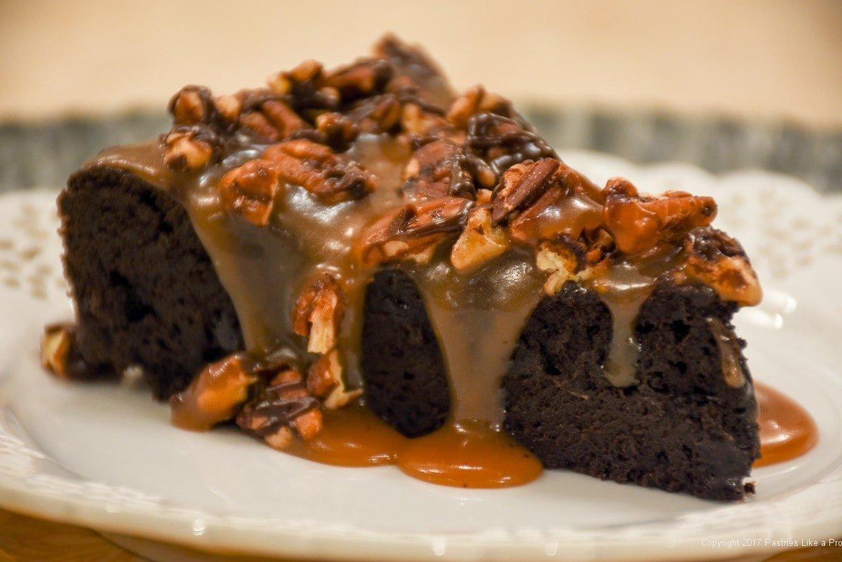 Carmel Turtle Cake Recipe