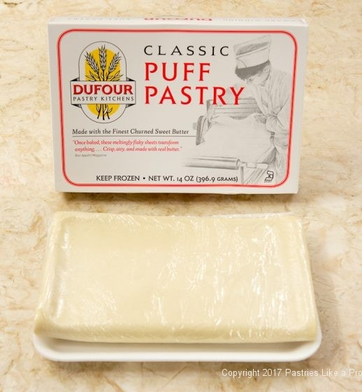 Dufour puff pastry for Purchased Puff Pastry