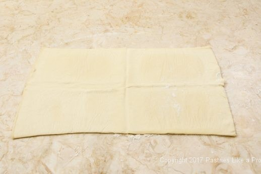 Dufour puff pastry unwrapped for Purchased Puff Pastry