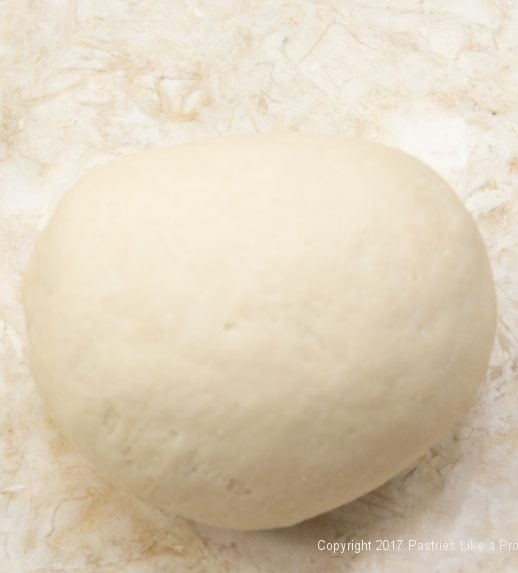 Finished dough kneaded for Soft flatbreads
