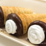 Cream Horns for Chocolate Marshmallow Cream Horns