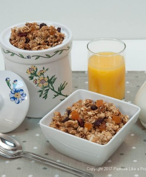 Granola for Holiday Food Gifts