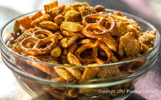 Hot Curried Party Mix