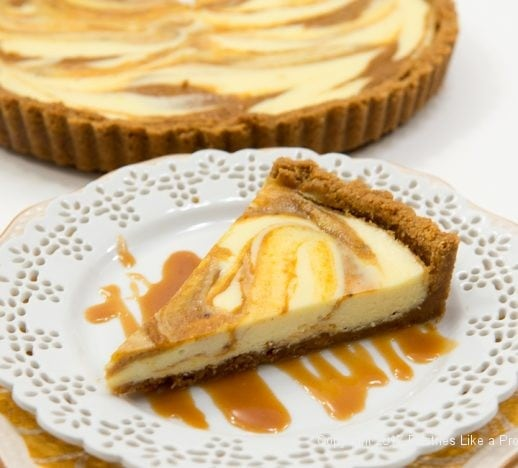 Pumpkin Cheesecake Tart